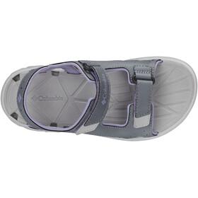 Columbia Techsun Vent Sandaalit Lapset, tradewinds grey/white violet
